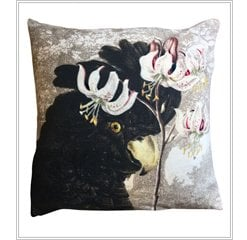 Vanilla Fly Velvet Cushion