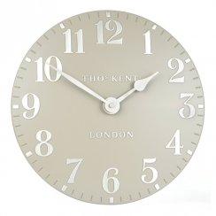 """Art Marketing 12"""" Arabic Cool Mink Wall Clock"""