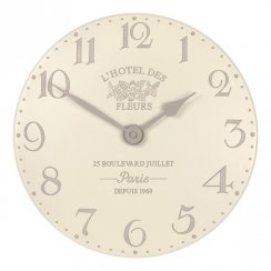 "Art Marketing 12"" Hotel Des Fleurs Creme"