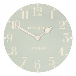 "Art Marketing 20"" Arabic Duck Egg Wall Clock"