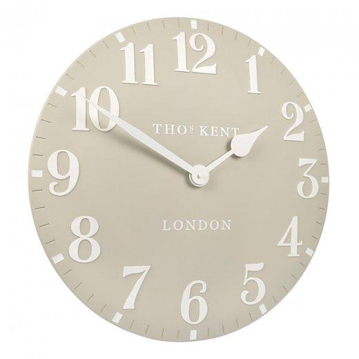 "Art Marketing 20"" Arabic Stone Wall Clock"