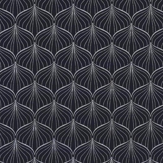 Au Maison Alli Oil Cloth - Twilight Blue