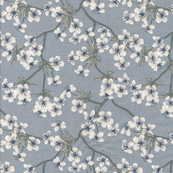 Au Maison Amalie Oil Cloth - Dusty Blue