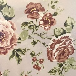 Au Maison Oil Cloth - Creme Vintage Rose
