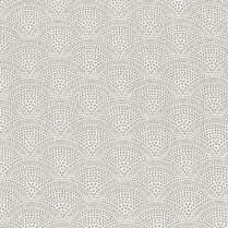 Au Maison Oilcloth Alba Grey - Price per metre