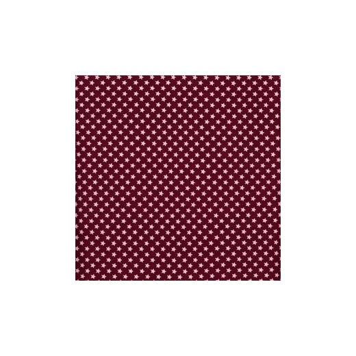 Au maison oilcloth mini star burgundy price per metre for Au maison fabric
