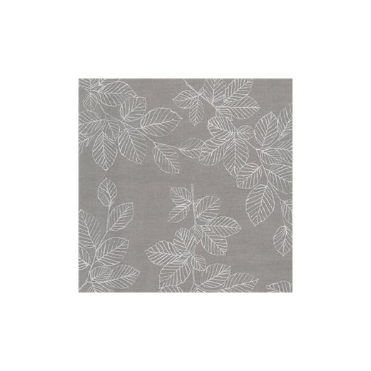 au maison oilcloth nordic leaves grey price per metre