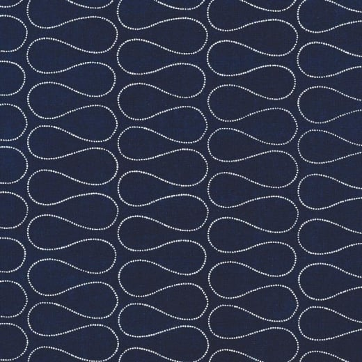Au maison oilcloth omnia twlight blue price per metre for Au maison fabric