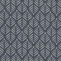 Au Maison Oilcloth Trigo Dustry blue/Midnight Blue - Price per metre