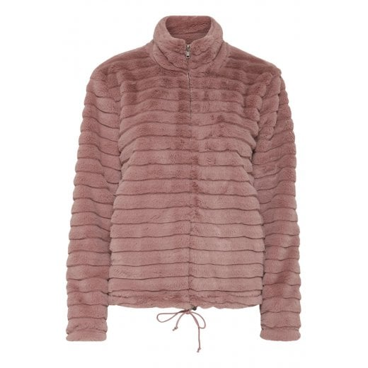 B.Young Albata Faux Fur Jacket