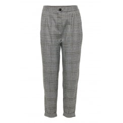 B.Young Grey Check Trousers