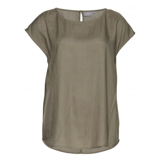 B.Young Liisa Short Sleeve Blouse