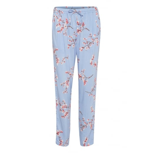 B.Young Loose Fit Trouser - Light Blue