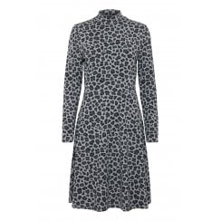 B.Young Pemmy Leo Print Dress