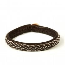 Be Christensen Boda Leather Cuff Bracelet - Dark Brown - UNISEX