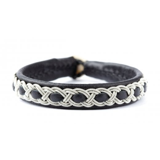 Be Christensen Sif Leather Cuff Bracelet - Black - UNISEX