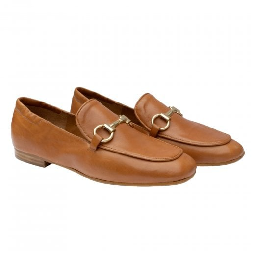 Billi Bi Leather Loafer - Tan