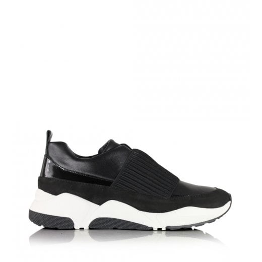 Billi Bi Pull on Trainers - Black