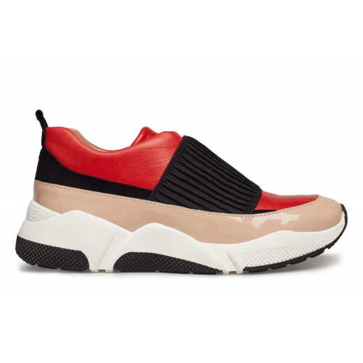 Billi Bi Pull on Trainers - Multi Coloured