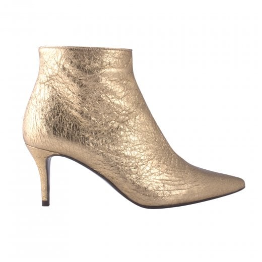 Billi Bi Stiletto Heel Boot - Gold