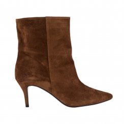 Billi Bi Suede Ankle Boots - Brown