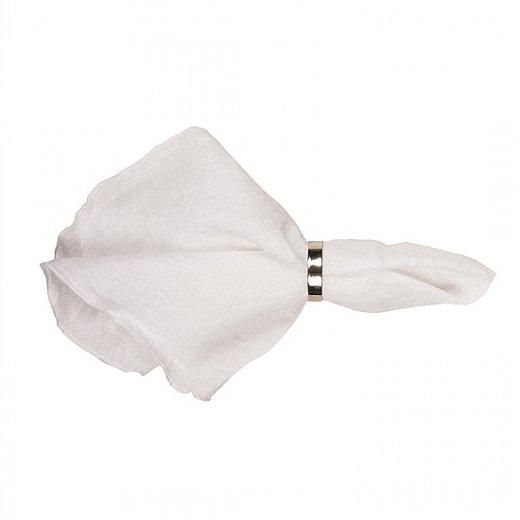 Brøste Copenhagen Linen napkin pure white 45x45cm