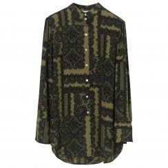 By Malene Birger Cologne Shirt - Winter Moss