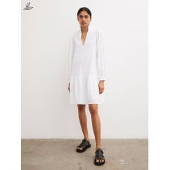 By Malene Birger Elegia Organic Cotton Dress -Crisp White