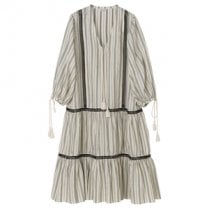 By Malene Birger Fagara Dress - Offwhite/Black
