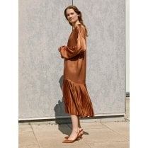 By Malene Birger Lemona Dress - Copper Brown