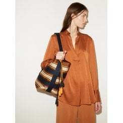 By Malene Birger Mabillon Silk Shirt - Brick