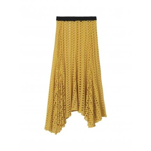 By Malene Birger Pointelle Skirt - Dandelion