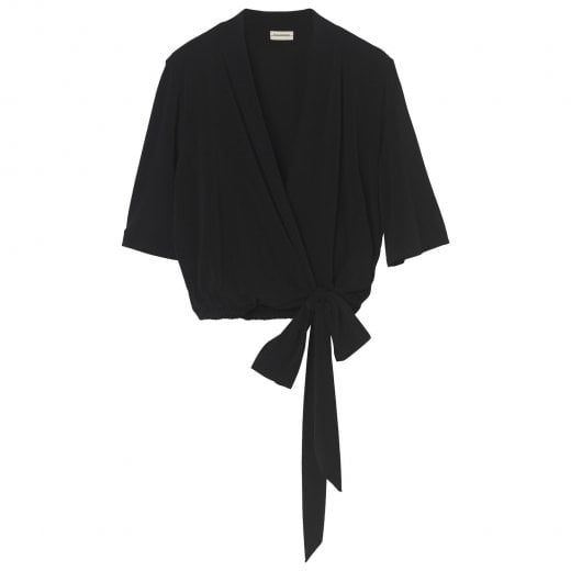 By Malene Birger Qaali Top - Black