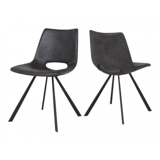 Canett Coronas Chair - Black