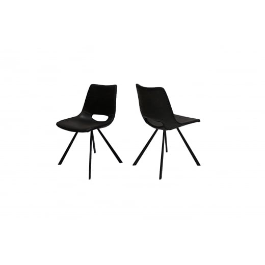 Canett Coronas Chair - Black
