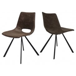 Canett Coronas Chair -Dark Brown