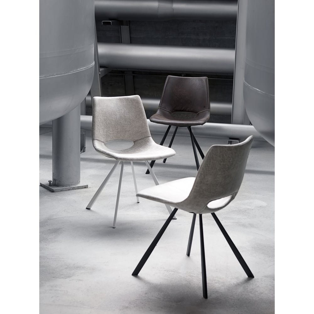 Coronas chair off white canett from danish collection limited uk