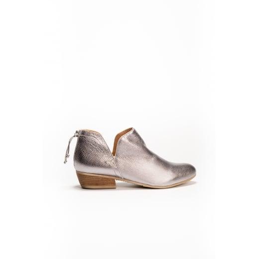 Cara London Ankle Boot - BASET - Steel Metal
