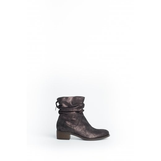 Cara London Reilly Slouch Ankle Boot - Graphite