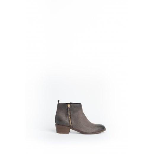 Cara London Saluki Ankle Boot - Grey