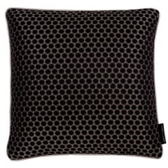 Clarke and Clarke Duomo Ebony Cushion