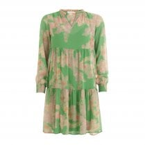 Coster Copenhagen Dress with Frill Detail - Green