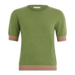 Coster Copenhagen Knit with Short Sleeves in Seawool