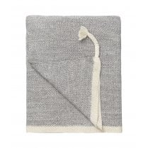 Cozy Living Astrid Knitted Throw - Mud