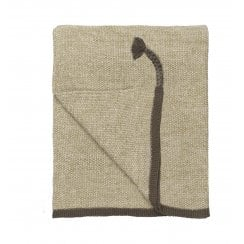Cozy Living Astrid Knitted Throw - Spring Leaf
