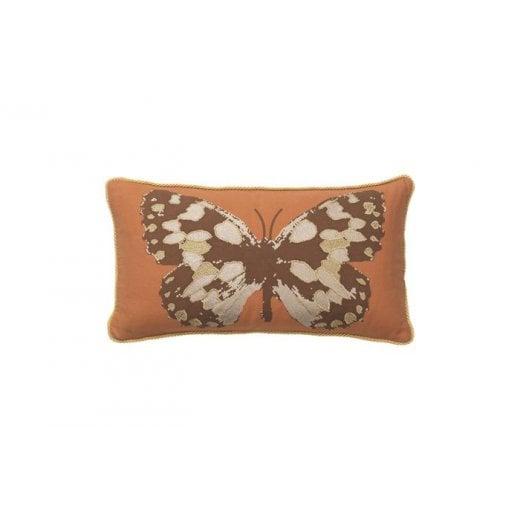 Cozy Living Butterfly Cushion - Golden Desert