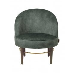 Cozy Living Club Lounge Lux Chair - Army Green