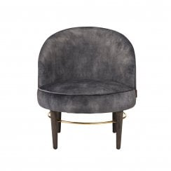 Cozy Living Club Lounge Lux Chair - Coal PRE ORDER