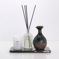 Cozy Living Cotton Scented Candle and Diffuser Gift Set