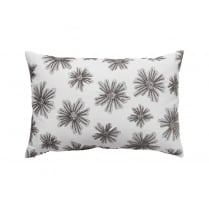 Cozy Living Embroidered Flower Cushion